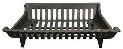 Open Hearth 15418 Cast Iron Fireplace Grate, Black, 18-In. - Quantity 1