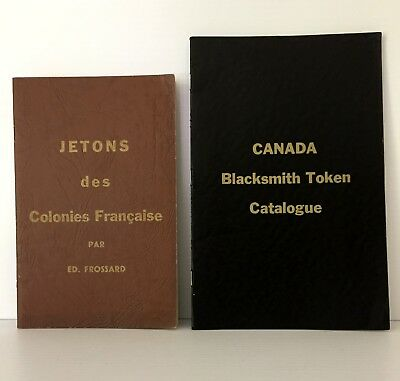 Canadian Blacksmith Coppers & Franco-American Jetons, reprints