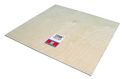 Midwest Products 5306 Craft Plywood, 1/8 x 12 x 24-In. - Quantity 1