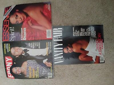 Diana Ross magazines lot of 3