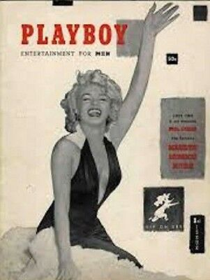 Playboy Nº1 Dec 1953 Marilyn Monroe - High Quality Digital Pdf - 44 Pages