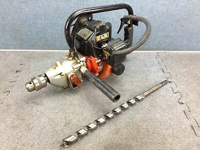 """Tanaka Pro-Force TED 262R 1/2"""" Gas Powered Portable Drill"""