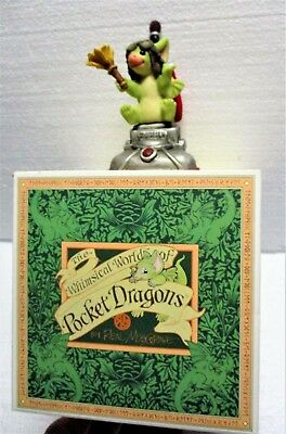 """2003 Real Musgrave Pocket Dragon """"maid Service"""" On Zoomer Vacuum Cleaner - Mint"""