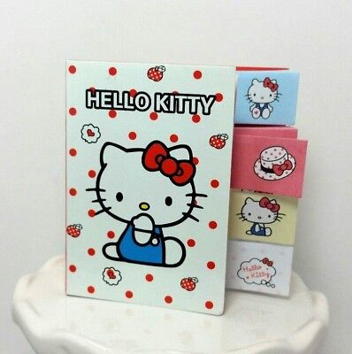 Hello Kitty Post-it Sticky notes 5 pack Kawaii 20 sheets per pad notes book RED1