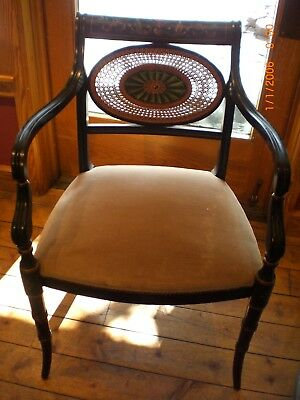Hitchcock Dining Room Arm Chair (early 20th century)
