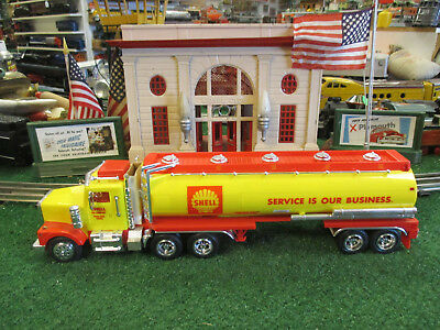 Taylor Made Shell Oil Company Tanker Truck