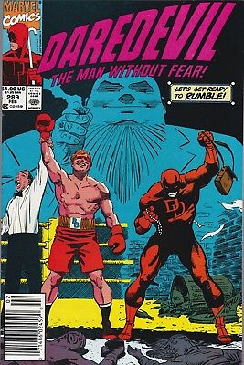Daredevil Man Without Fear #289 (Feb 1991, Marvel Comics)***FN/VF