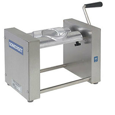 Somerset SPM-45 Turnover Pastry Machine, Manual, Folds, Crimps, Trims and Seals