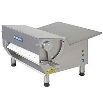 "Somerset CDR-500 Dough Sheeter, 1/2 HP, 20"" Synthetic Rollers, 500-600 Pieces Pe"