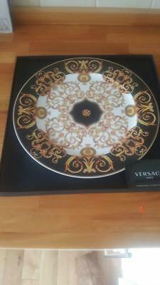 A Rosenthal/versace Charger Plate Barocco Boxed
