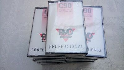15 PMD C90 audio cassette tapes NEW SEALED
