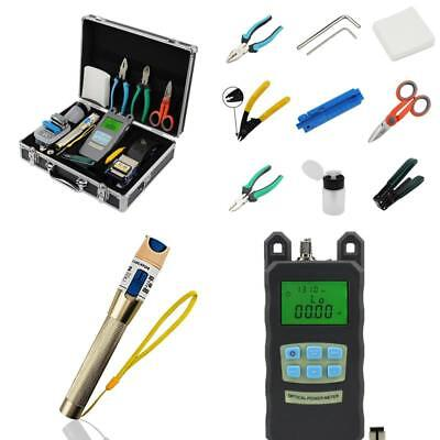 Zoostliss Optical Power Meter Visual Fault Locator 25 In 1 Fiber Optic FTTH Tool