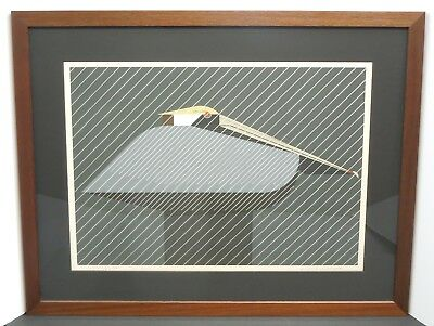 CHARLEY CHARLES HARPER Pelican In A Downpour Pencil Signed Ltd New ...