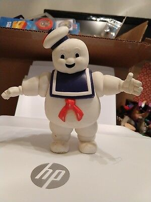 """Vintage 1984 Ghostbusters 7"""" Stay Puft Marshmallow man Columbia Pictures rare!"""