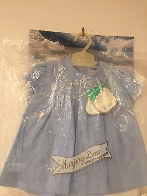 Marjory Daw Vintage Dress Baby Girl Size 6 Months