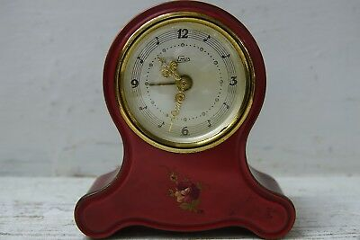 Beautiful Old Musical Clock - Emes - Very Rare - Sounds Lovely Music Box - Rare