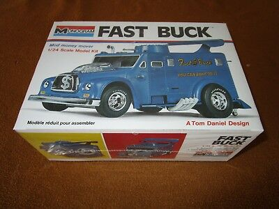 Monogram Model Kit Fast Buck 1/24 Complete & Unbuilt Sealed
