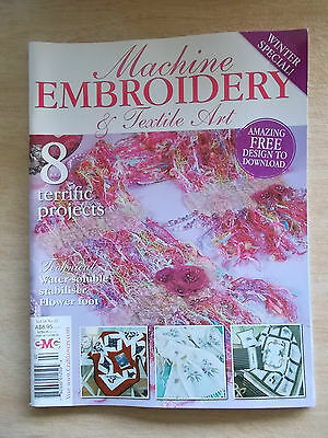 Machine Embroidery & Textile Art Vol 16 #12~Quilts~Shawl~Quillow~Placemats...