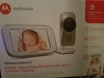 motorola baby monitor camera MBP845 connect WiFi Brand New