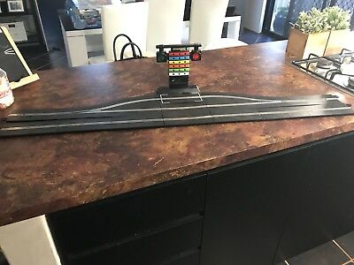 Scalextric Digital Pit Lane Game And Side Track x 6 single x 1 half straight.