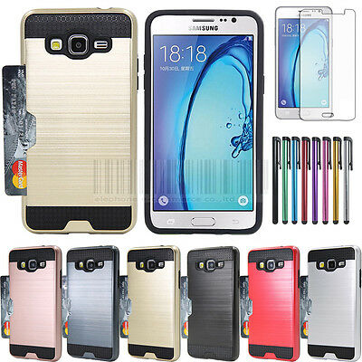 For Samsung Galaxy On5 G550 Case Hybrid Shockproof Rugged Slim Hard Phone Cover