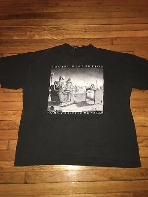 Men's 1996 Vintage Social Distortion Mommys Little Monster T-Shirt Size XL