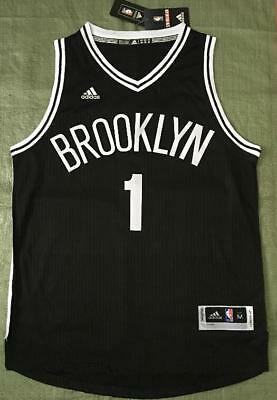 e2052494a 2018-2019 NBA NIKE Brooklyn Nets D Angelo Russell Icon Edition ...