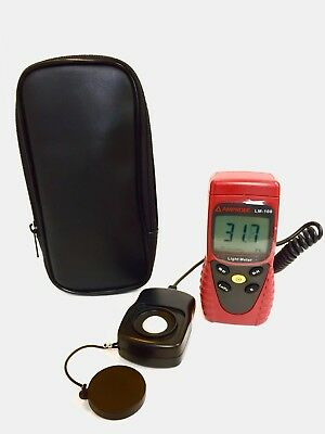 Amprobe LM100 Digital Light Meter, With Case, LM-100, # 337