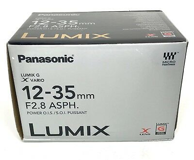 *NEW* Panasonic Lumix G X Vario 12-35mm f/2.8 II ASPH. POWER O.I.S. Zoom Lens