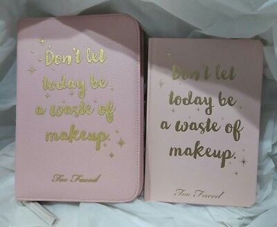 Too Faced Agenda 12 month with Stickers & Agenda Cover. Not Eyeshadow.