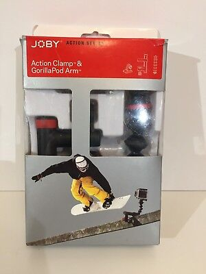 JOBY Action Series Clamp & GorillaPod Gorilla Pod Arm for Video Cameras GoPro