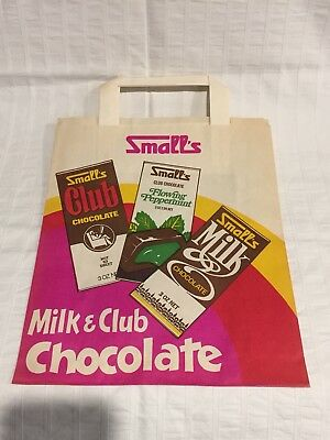 1970s AUSTRALIAN ADVERTISING PAPER SHOWBAG SMALL'S CHOCOLATE ROYAL ADELAIDE SHOW