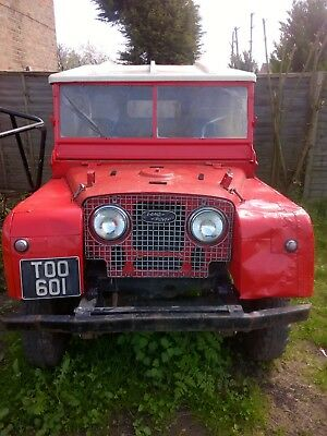 """1951 Land Rover Series 1 80"""" Mobile Welder with Lincoln 150 will consider p/x"""