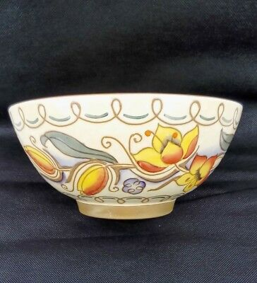 ART DECO CHARLOTTE RHEAD BOWL. Large piece. Tube Lined.