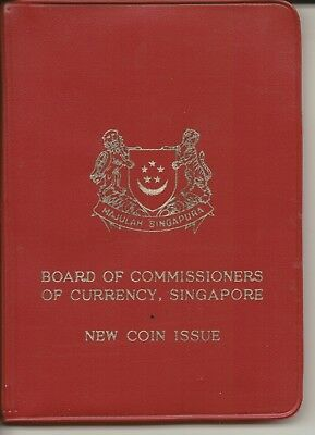 SINGAPORE - 1967 Uncirculated COIN SET