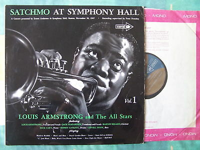 Louis Armstrong – Satchmo At Symphony Hall, Boston 1947 Vol. 1