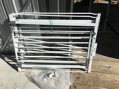 2 x Dream baby gates with 2 extensions