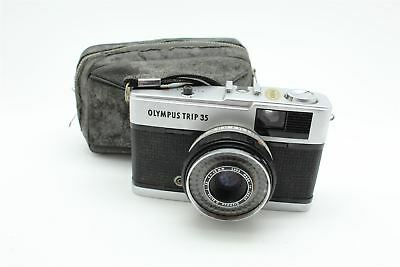Vintage Camera Olympus Trip 35 4700204 Made in Japan with Case 424g