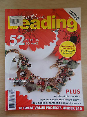 Creative Beading Vol 6 #2~52 Projects~Jewellery~Wire Flowers~Watch~Cuff~Ropes