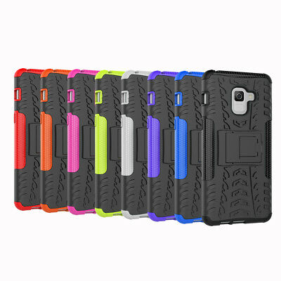 Shockproof Protection Phone Case Cover with Stand for Samsung A8/A8 Plus(2018)