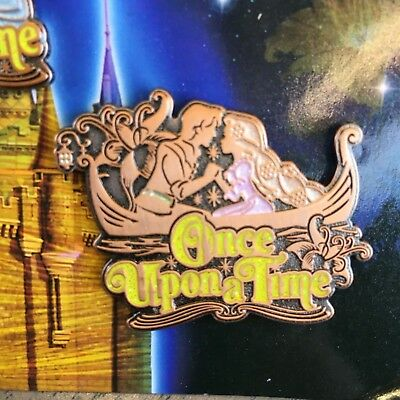 RARE!! Tokyo Disney Resort Pin Once Upon A time Each Sell Rapunzel Flynn Tangled