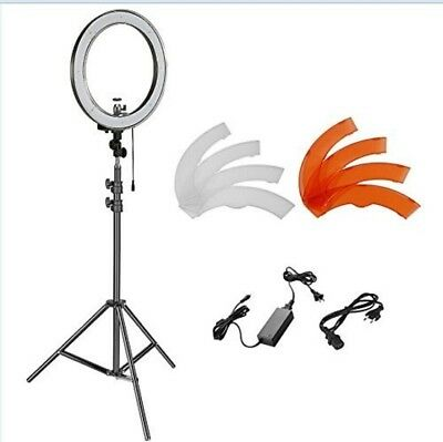 18 inches 55W 240 LED Beads Dimmable LED Ring Light and Light Stand Lighting Kit