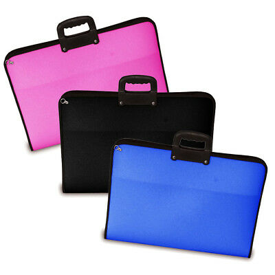 Mapac Academy Project Cases with Handle & Strap A3, A2 or A1 Assorted Colour