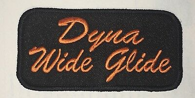 4x2 MADE IN USA! HARLEY DYNA WIDE GLIDE PATCH