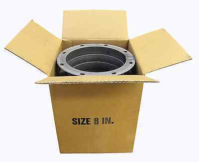 Box Of Ten 8 Inch Round National Standard Punched Carbon Steel Angle Rings