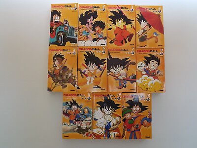 Lot de 11 Mangas Dragon Ball - Edition Glénat - Akira Toriyama Edition Française