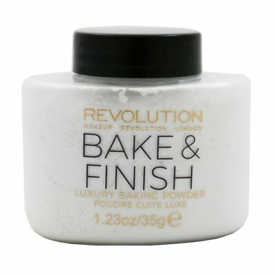 Makeup Revolution Ghost Finish Baking Powder 35 g Transparent Loses Fixing Puder