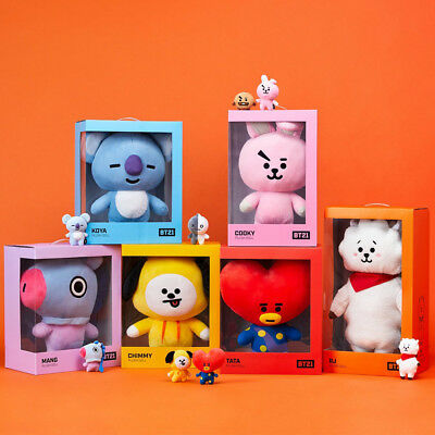 Official Bt21 Plush Doll Jumbo Size. Standing Doll Tata Cooky Authentic Bt21