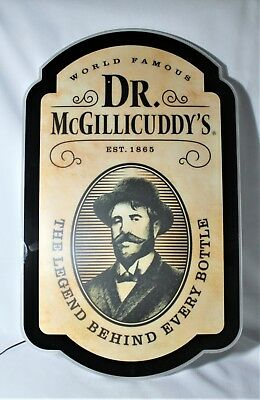 Dr McGillicuddy's LED Bar Sign  23x14 - Never Used - Perfect Condition
