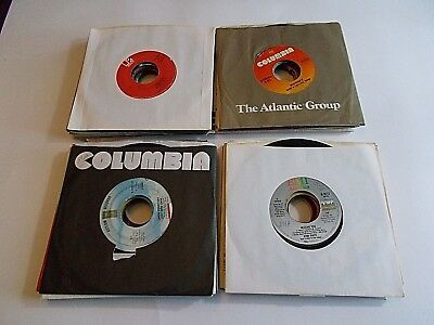 Lot Of 50 45RPM 70s 80s Pop Rock Soul Funk Jukebox Wholesale Random Vinyl Record